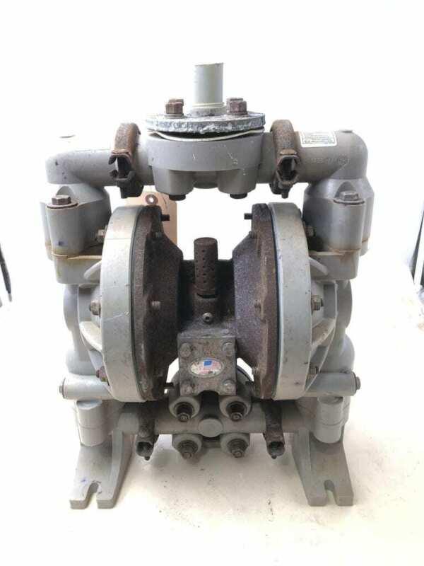 "Ingersoll-Rand ARO 6661B3-344-C CI/Teflon 1"" Air Double Diaphragm Pump 120PSI"