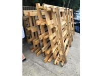 Big pallets made from 4x2 really heavy duty £10 each