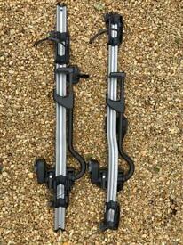 2 x Thule bike roof carriers 298