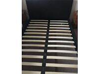 Double bed with Rest Assured Pocket Sprung Mattress
