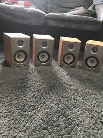 Eltax Wave Speakers (2 pairs)