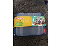 Baby travel booster seat.