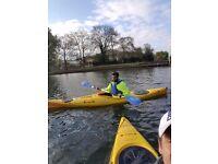 Morning kayaking fitness class £10