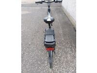 "ELectric Bike,covers 45miles on a full charge. 26"" wheels, 19"" frame. £1400 NEW selling for £750"
