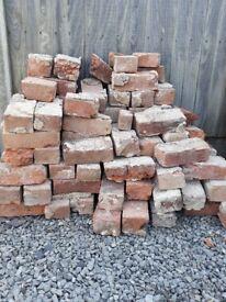 Used house bricks
