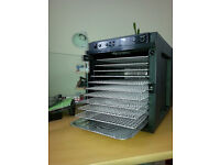 Food Dehydrator, Sedona Tribest; 11 Stainless steel trays - SD-6780. As new, never been used.