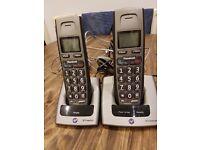 Twin telephone