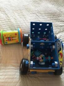 Free set of toys