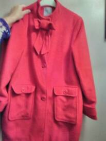 16 year old/small ladies woolen coat from next signature.