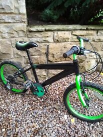 18 inch 6 gear kids bike
