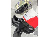 Men's Black & Grey Trainers sizes 7 - 11