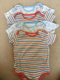 Baby vests long and short sleeved clothes bundle 12-18 months