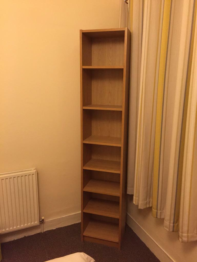 Bookcase Oak Veneer Finish