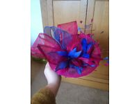Beautiful fascinator, worn once.