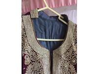 Asian indian wedding dress suit