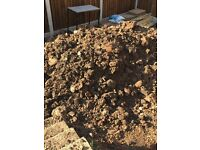 Clay type soil