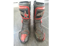 RST Forza Motorcycle Boots - size Euro 42 (UK 9 to 10)