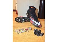 NIKE Mercurial Superfly IV CR7 'Savage Beauty' UK 8.5 SG Football Soccer Boots