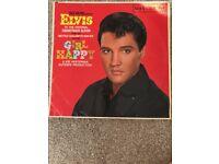 Vinyl album Elvis Presley Girl Happy excellent condition.