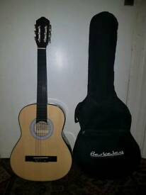 Wooden Acoustic Berkeley Guitar