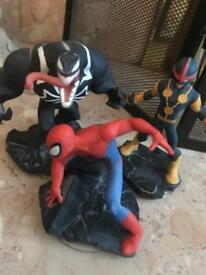 Disney Infinity 1.0 figure spider-Man animation set bundle