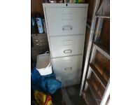 4 Draw metal filling cabinet