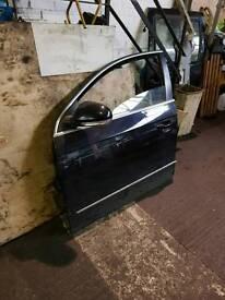 Passat b6 passenger door with wing mirror