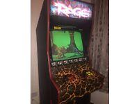 Arcade Machine Cabinet Retro coin operated arcade game Atari Primal Rage