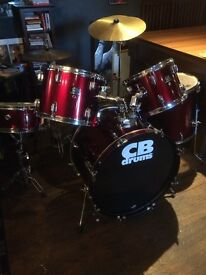 drum kit - good condition, barely used