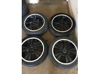 "JRD Set of Alloy Wheels 15"" Corsa Astra"