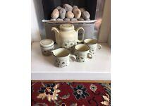 Vintage Hornsea Pottery Tea Set