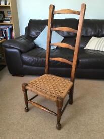 Antique low chair
