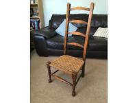 Antique low chair