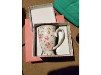 Patterned gift mug