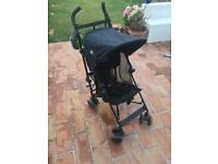 Maclaren Volo Travel Pushchair/stroller with rain cover and snooze shade