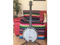Deering Boston B6 6 String Banjo - USA Made