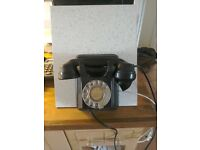 Old Bakerlite Wall Phone