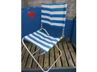 Retro folding camping picnic chair vw camper