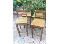 High stools/ bar stools