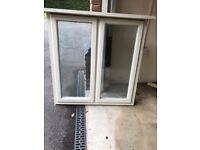 Wooden Double-glazed window unit