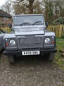 2009 Land Rover Defender Country HT SWB 66000 miles