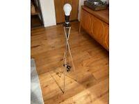 Chrome Tripod Floor Lamp - Habitat