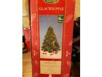 Christmas tree artifical 6ft green bushy