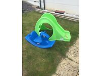 FREE kids slide and rocking horse