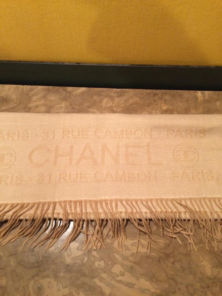 Chanel Shawl.
