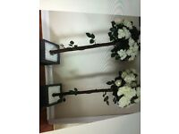 Wedding decorative flower trees