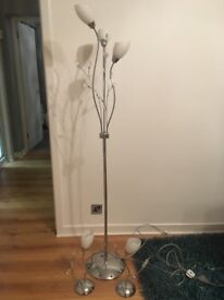 1x Standing Lamp and 2x Table Lamp