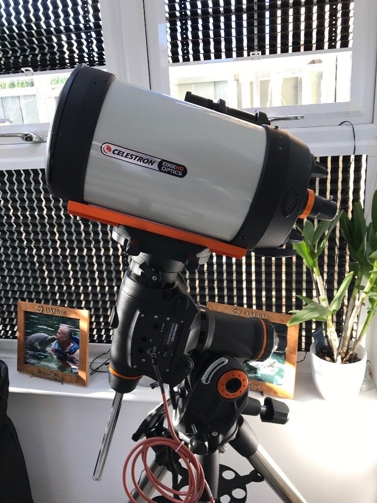 Celestron C8HD EDGE Astro set up