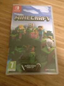 Minecraft (bedrock edition) Switch *new, unopened*