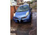 1.2 Nissan Micra 03 Plate